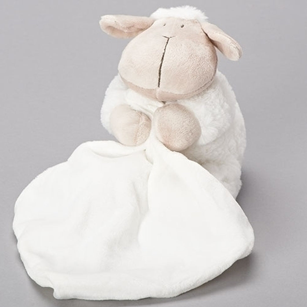 SITTING SHEEP WITH BLANKET