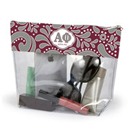 ALPHA PHI CLEAR POUCH