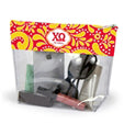 CHI OMEGA CLEAR POUCH
