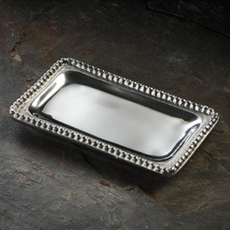 SMALL BEADED RECTANGLE TRAY