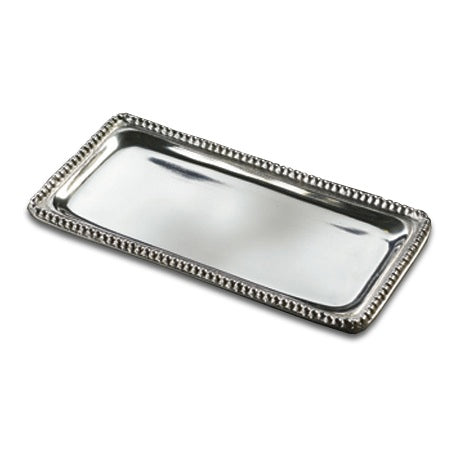MEDIUM BEADED RECTANGLE TRAY