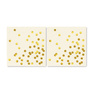 KATE SPADE CUE THE CONFETTI COCKTAIL NAPKINS
