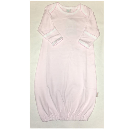 PINK STRIPE GOWN 3-6 MONTH