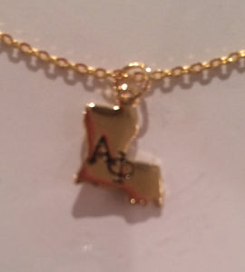 ALPHA PHI LOUISIANA NECKLACE