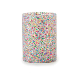 KATE SPADE MULTI GLITTER DRINK COOZIE