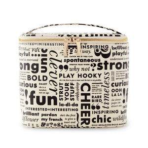 KATE SPADE WHAT DO YOU SAY LUNCH TOTE