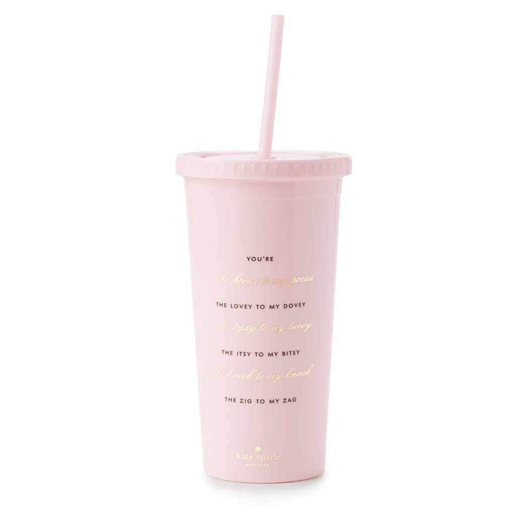 KATE SPADE THE HOCUS TO MY POCUS BRIDESMAID TUMBLER