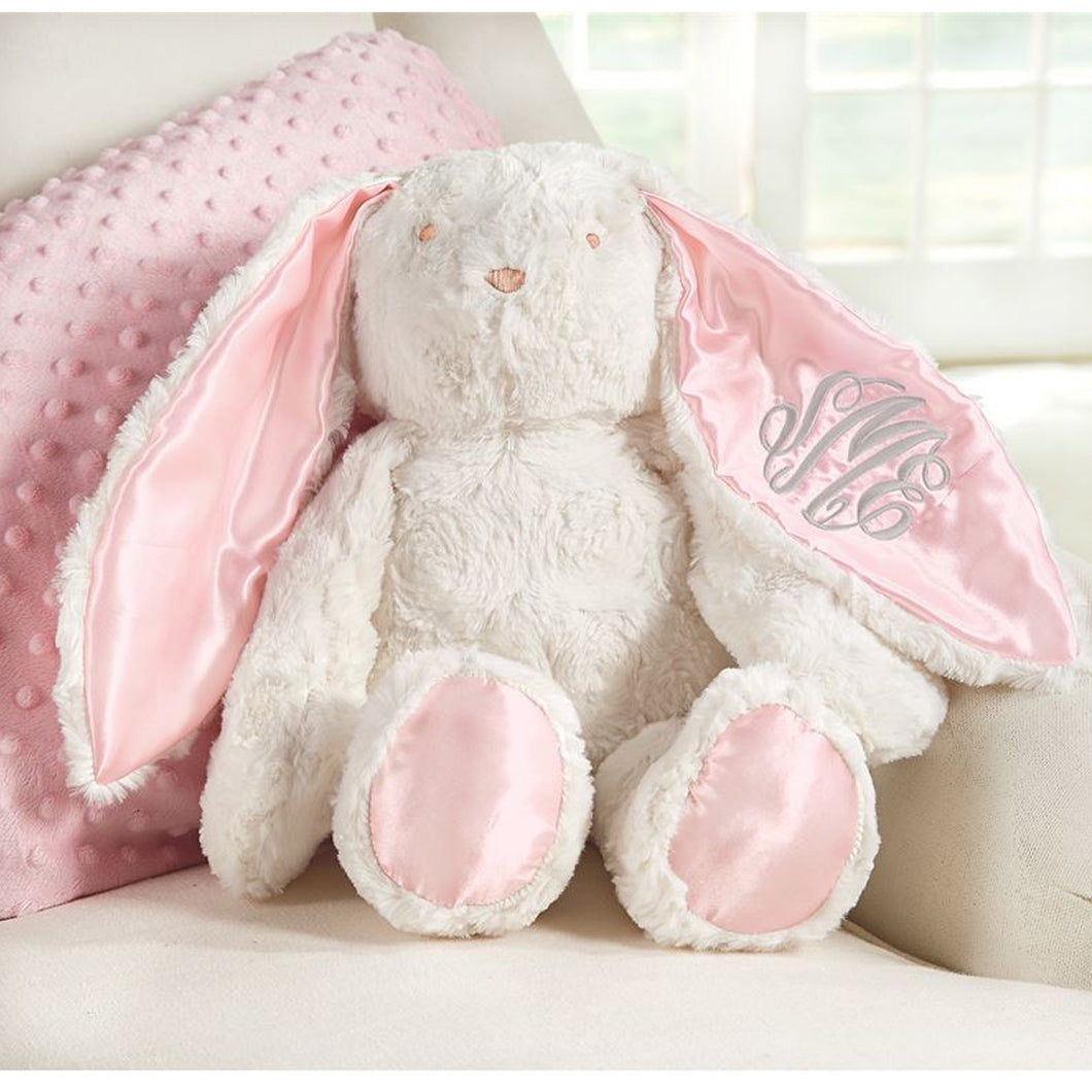 PERSONALIZED PLUSH BUNNY PINK