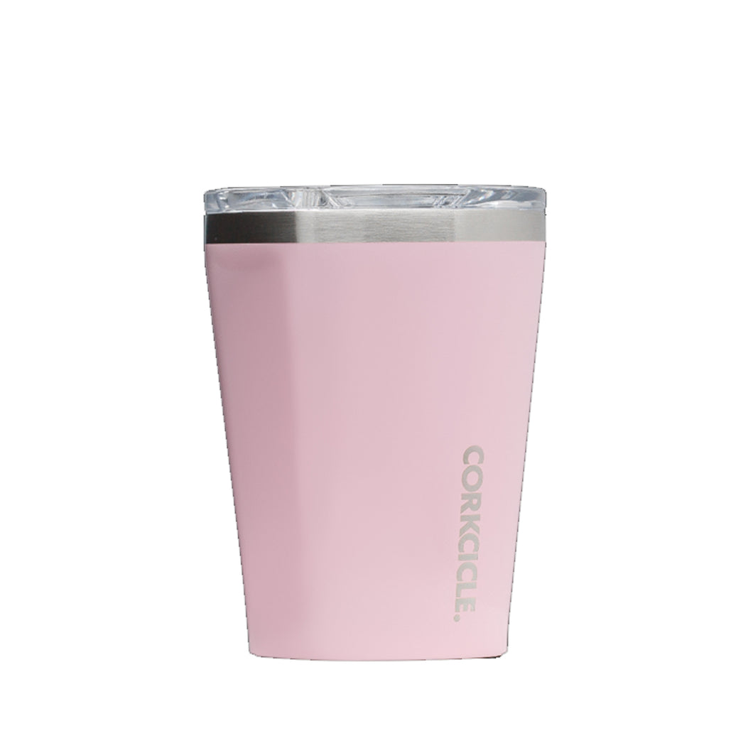 12 OZ TUMBLER ROSE QUARTZ