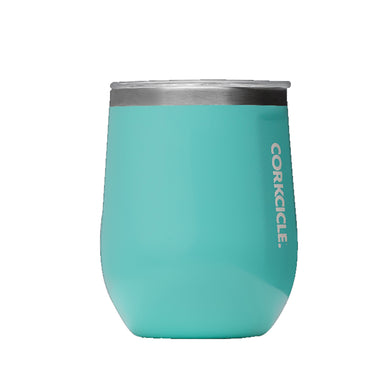 12 OZ STEMLESS GLOSS TURQUOISE