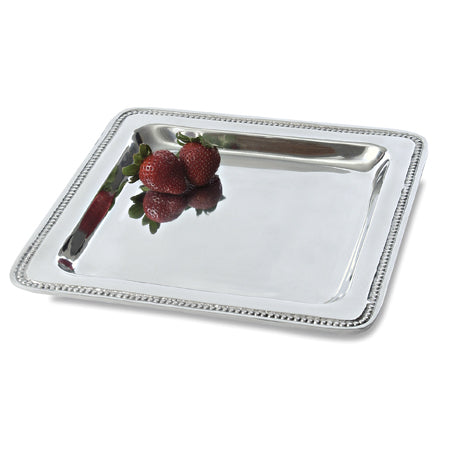 SQUARE BEADED TRAY