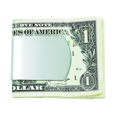 ENGRAVED WIDE MONEY CLIP