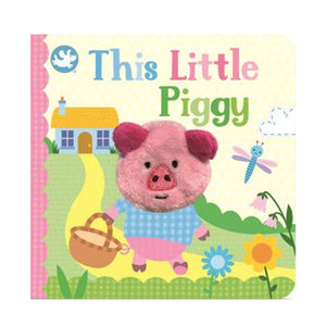 THIS LITTLE PIGGY FINGER PUPPET BOOK