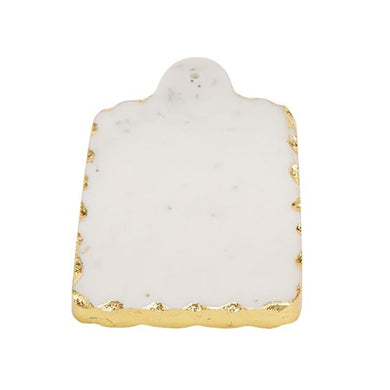 RECTANGLE GOLD MARBLE BOARD