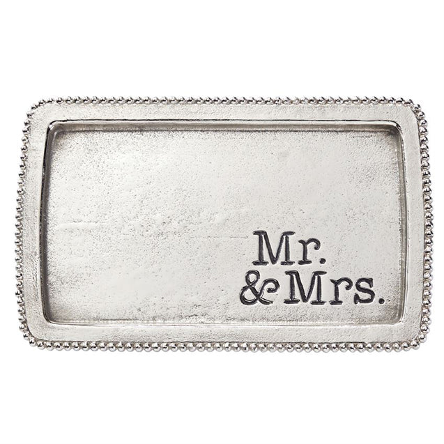 MR AND MRS TRINKET TRAY