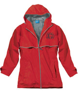 NEW ENGLANDER RAIN JACKET RED