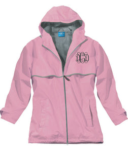 NEW ENGLANDER RAIN JACKET PINK