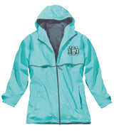 NEW ENGLANDER RAIN JACKET AQUA