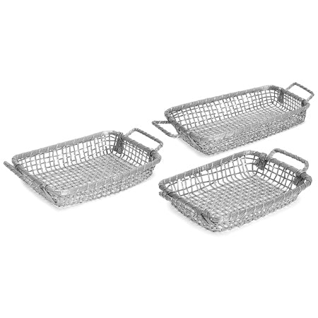 RECTANGLE 7X11 METAL BASKET