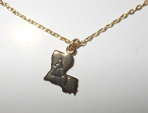 ALPHA DELTA PI LOUISIANA NECKLACE