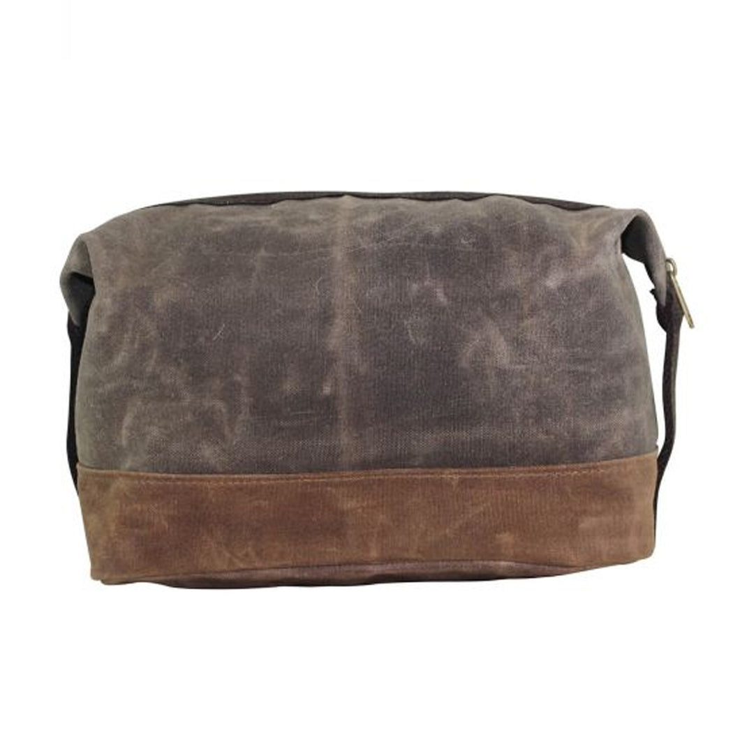 CANVAS DOPP KIT OLIVE