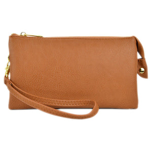 CAMEL MULTI POCKET CROSSBODY