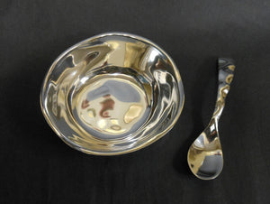 SOHO ROUND BOWL WITH SPOON
