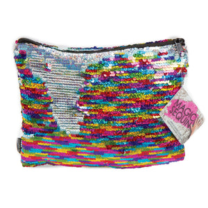 MAGIC SEQUIN POUCH RAINBOW