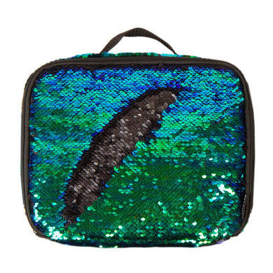 MAGIC SEQUIN LUNCH TOTE MERMAID