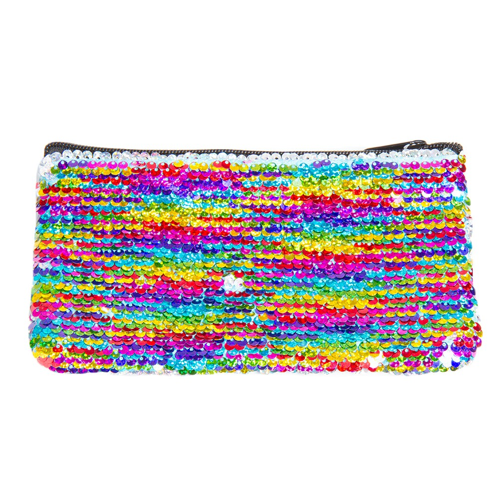 SEQUIN MINI PENCIL POUCH