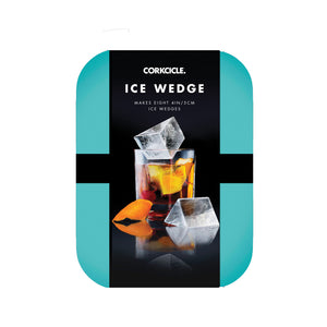 ICE WEDGE TRAY TURQUOISE