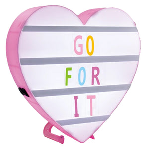 HEART SHAPED MESSAGE BOARD