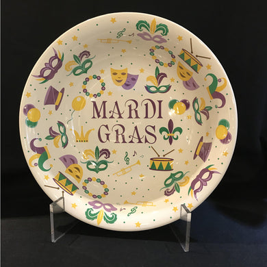 LARGE MARDI GRAS BOWL