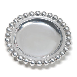 SMALL BEADED ROUND TRAY