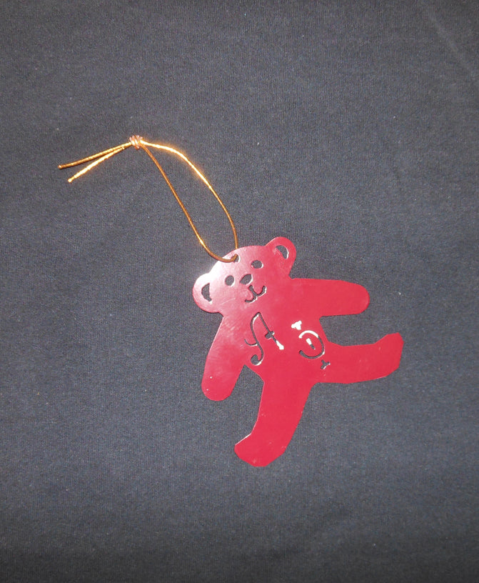 ALPHA PHI BEAR ORNAMENT
