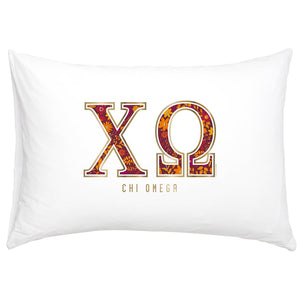CHI OMEGA NEW PILLOW CASE