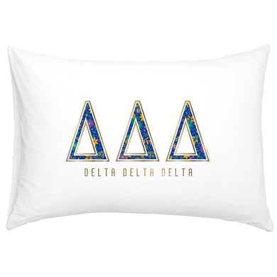 DELTA DELTA DELTA NEW PILLOW CASE