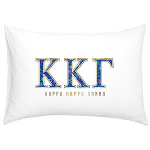 KAPPA KAPPA GAMMA NEW PILLOW CASE