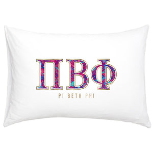PI BETA PHI NEW PILLOW CASE