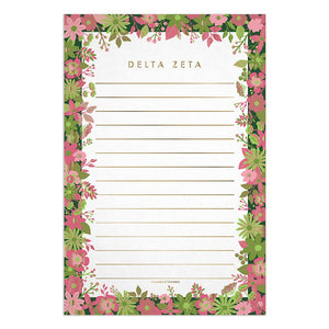 DELTA ZETA NEW NOTE PAD