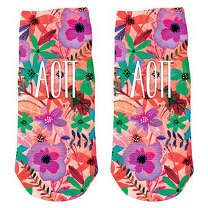 ALPHA OMICRON PI ANKLE SOCKS
