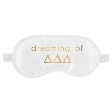 DELTA DELTA DELTA SLEEP MASK