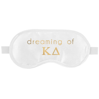 KAPPA DELTA SLEEP MASK