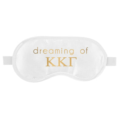 KAPPA KAPPA GAMMA SLEEP MASK