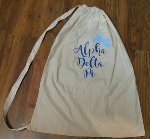 ALPHA DELTA PI LAUNDRY BAG