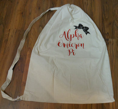 ALPHA OMICRON PI LAUNDRY BAG