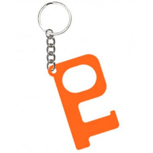 HANDS-FREE DOOR KEYCHAIN ORANGE