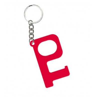 HANDS-FREE DOOR KEYCHAIN RED