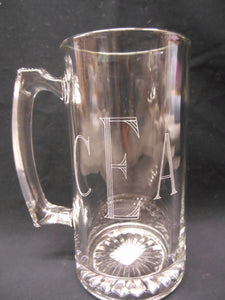 PERSONALIZED ENGRAVED BEER MUG
