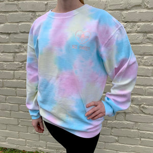 BEE SWEET TIE DYE CORD SHIRT